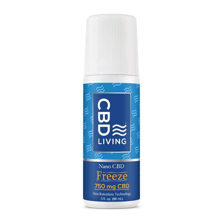 CBD Living - Freeze Roll On 1500mg (THC-Free)