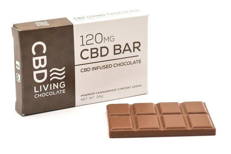 Living CBD oil Chocolate 120 mg