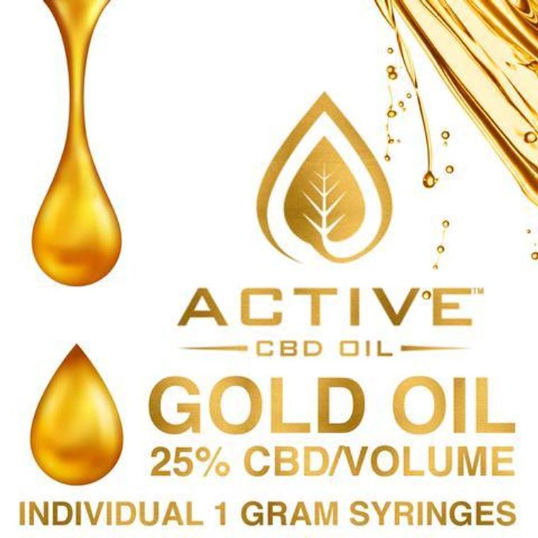 Active CBD oil - Gold 25%