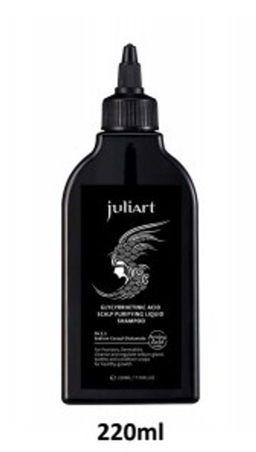 Juliart Glycyrrhetinic Acid Exfoliating Scalp Sampoo pH5.5 (220ml / 7.76fl.oz)