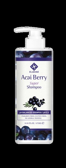 Elabore Acai Berry Super Shampoo 16.06fl.oz/ 475ml