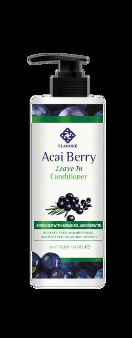 Elabore Acai Berry Leave-In Conditioner 16.06 fl.oz/ 475ml