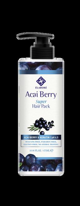 Elabore Acai Berry Super Hair Pack 16.06fl.oz/ 475ml