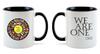 """11-Ounce Ceramic Mug 3.75"""" H and 11-oz capacity."""