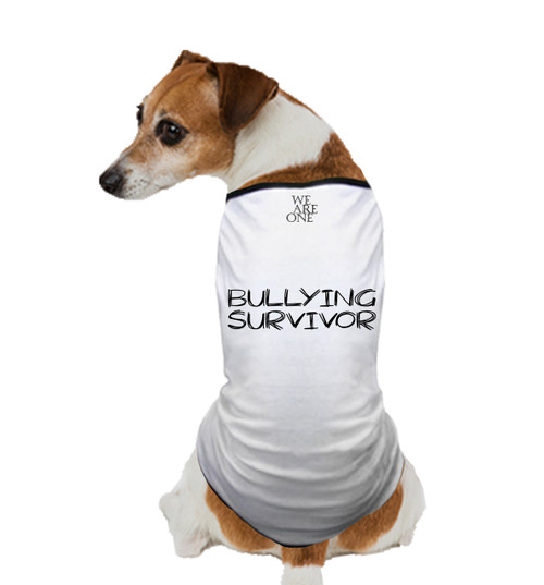 BULLYING SURVIVOR DOG T SHIRT