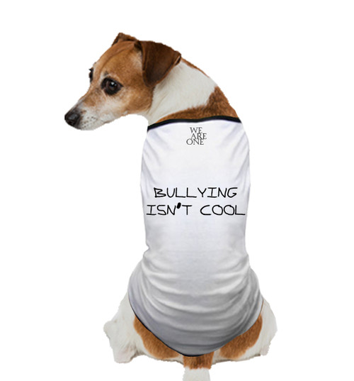 BULLYING ISN'T COOL DOG T SHIRT