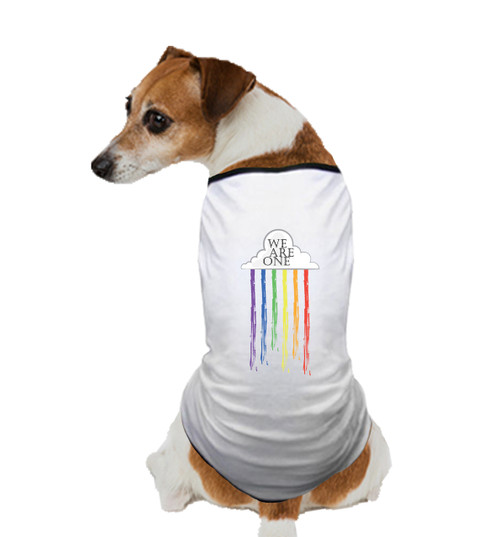 GAY PRIDE DOG T SHIRT I
