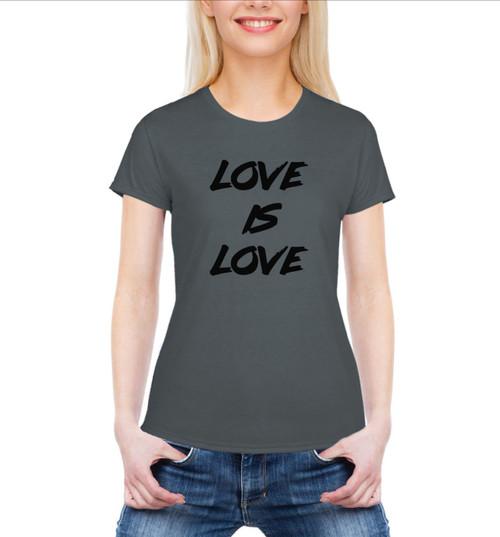 -LOVE IS LOVE T-SHIRT