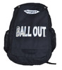 BALL OUT Back Pack with Liquid letters