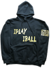 IPLAY IBALL Vegas Liquid - BLACK ADULT HOODIE
