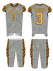 Fully Sublimated football Jersey and pants with pant.