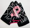 Black Breast Cancer Awareness Gloves