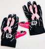 Breast Cancer Awareness Gloves 2021 - Black