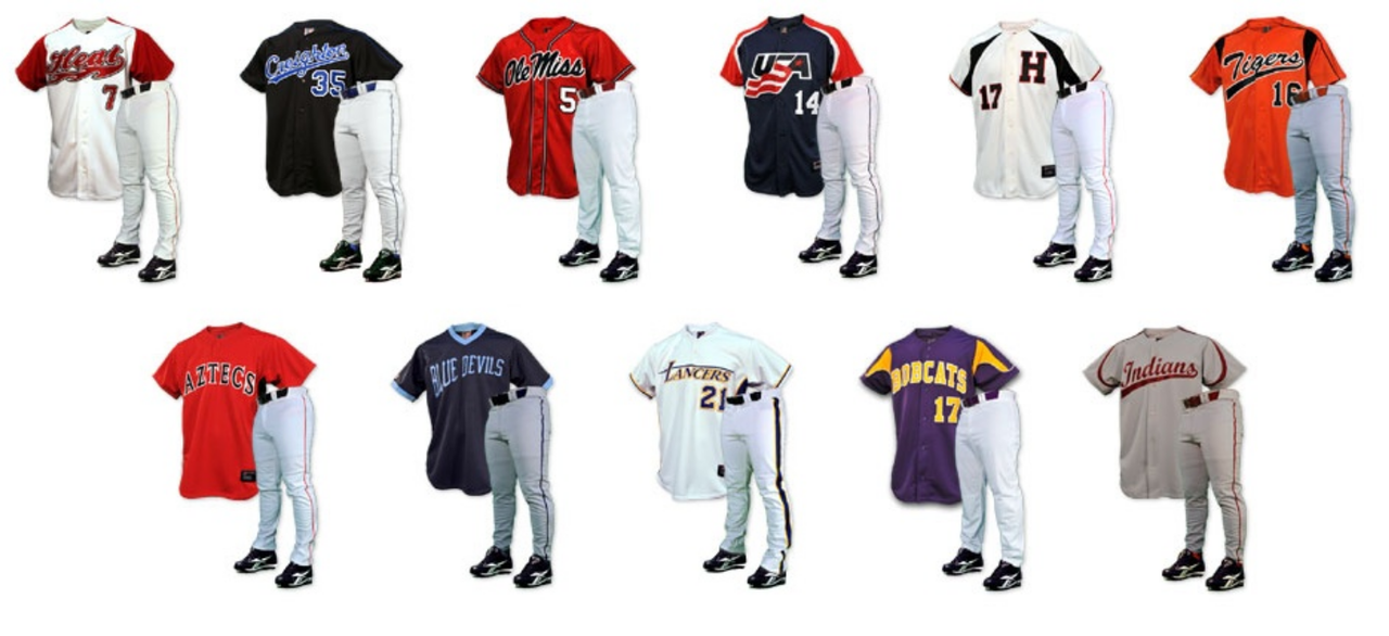 best service 58602 0e6eb Custom Sublimated Baseball Uniforms