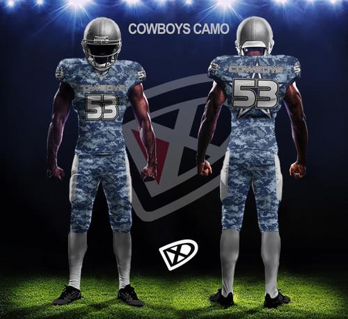 d61f18fe486 Fully Custom Game Football Uniforms - Design examples - DmaxxSports