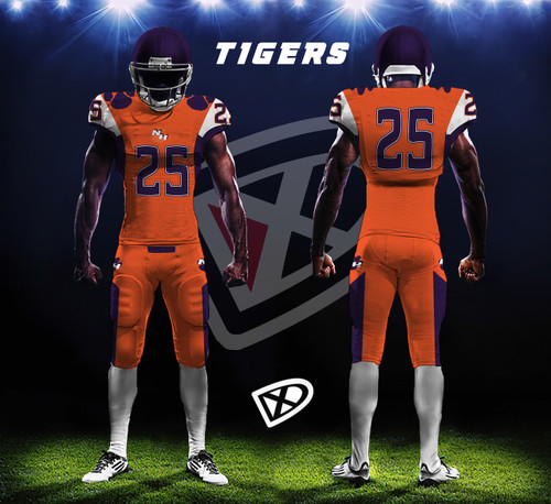 0c4649d5e Fully Custom Game Football Uniforms - Design examples - DmaxxSports