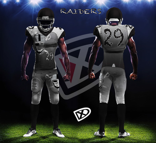 b0e195304 Fully Custom Game Football Uniforms - Design examples - DmaxxSports