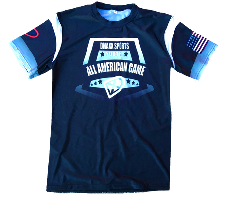 Dmaxx All American Game -Black - with USA Flag -Youth