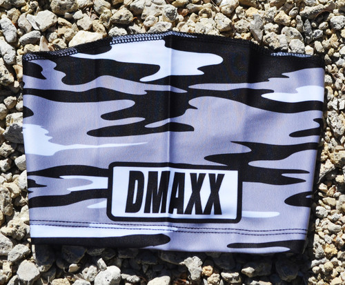 Black and Silver Classic Camo  Head Sleeve