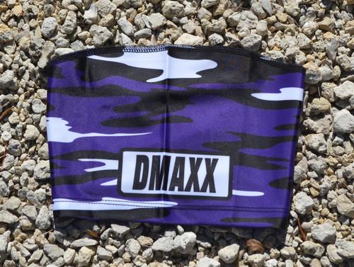 Purple and Black Classic Camo  Head Sleeve