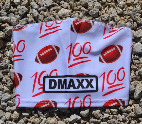 100 Emojie Football Head Sleeve