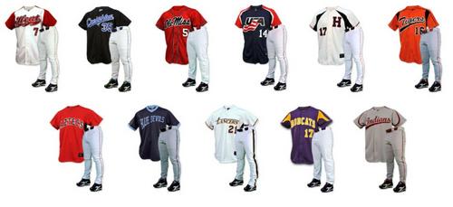 best service e7c69 413c1 Custom Sublimated Baseball Uniforms