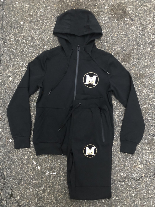 Dmaxx DM Embroidery Jogger Set - youth and adult sizes