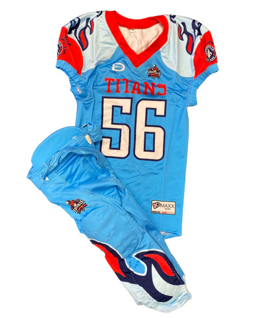 Football Uniforms With Integrated pants/ names on back - Fully Custom