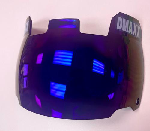 """BUBBLE FACE"" - Visor - Purple Haze"