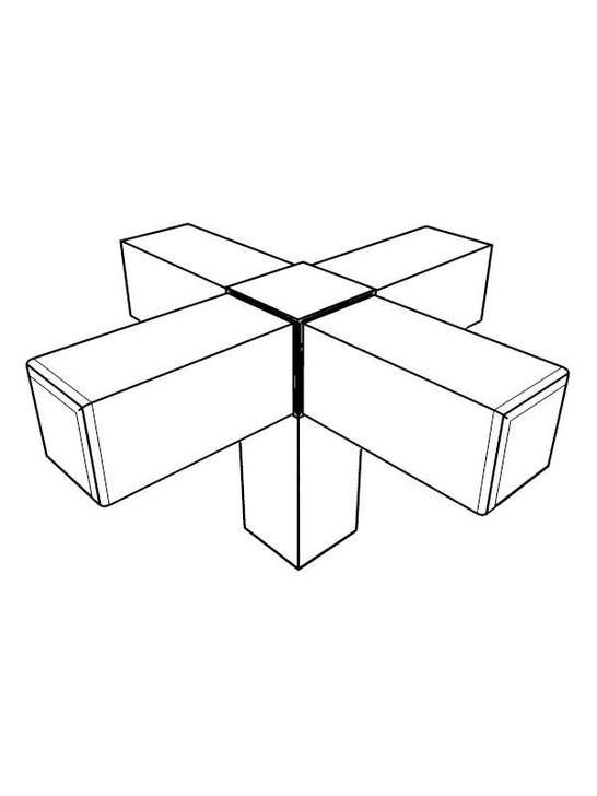 Frame Joint - 5-Way x4