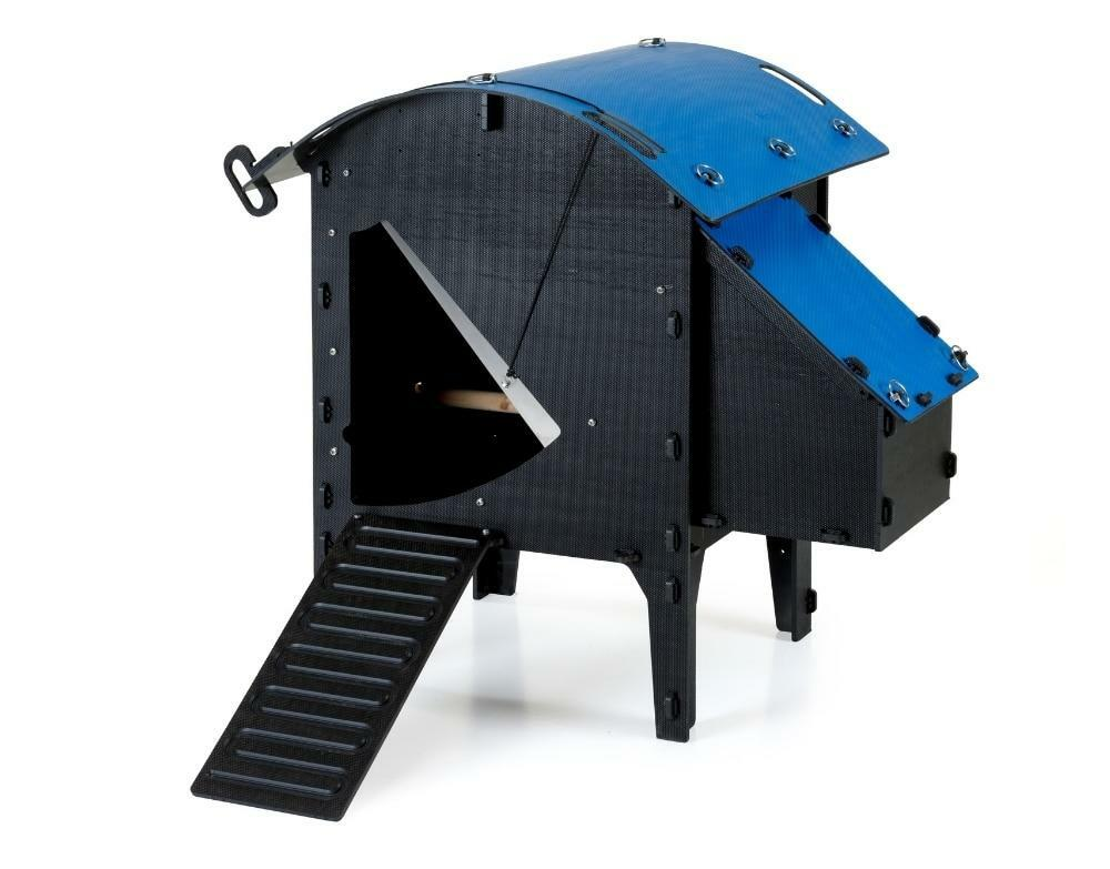 Recycled_Plastic_Chicken_Coop_Lodge_Small_2-4_Chickens_Blue