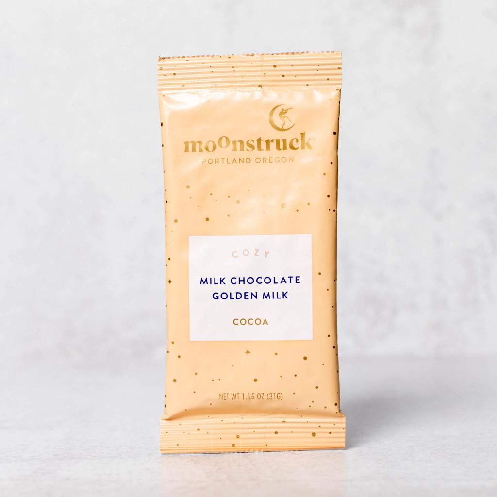 Milk Chocolate Golden Milk Hot Cocoa Single Serve Packet