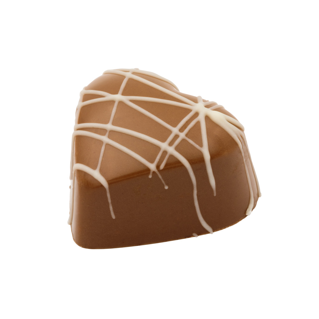 Crème Brûlée Heart Truffle