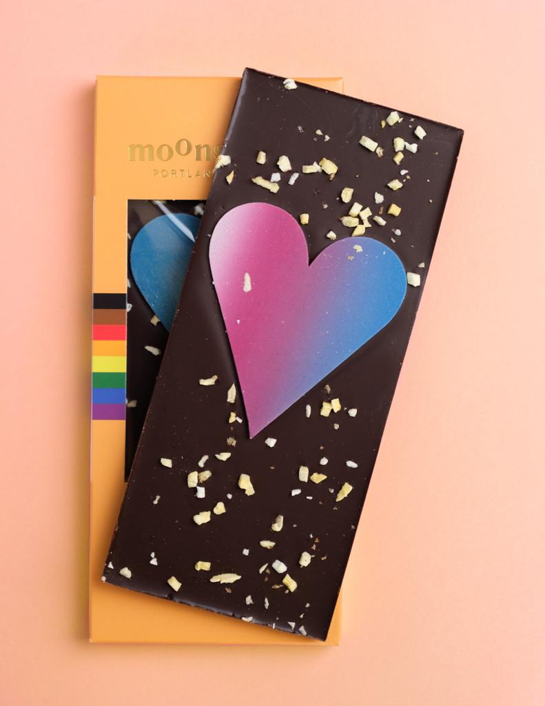 Love is Love Mango Dark Chocolate Bar