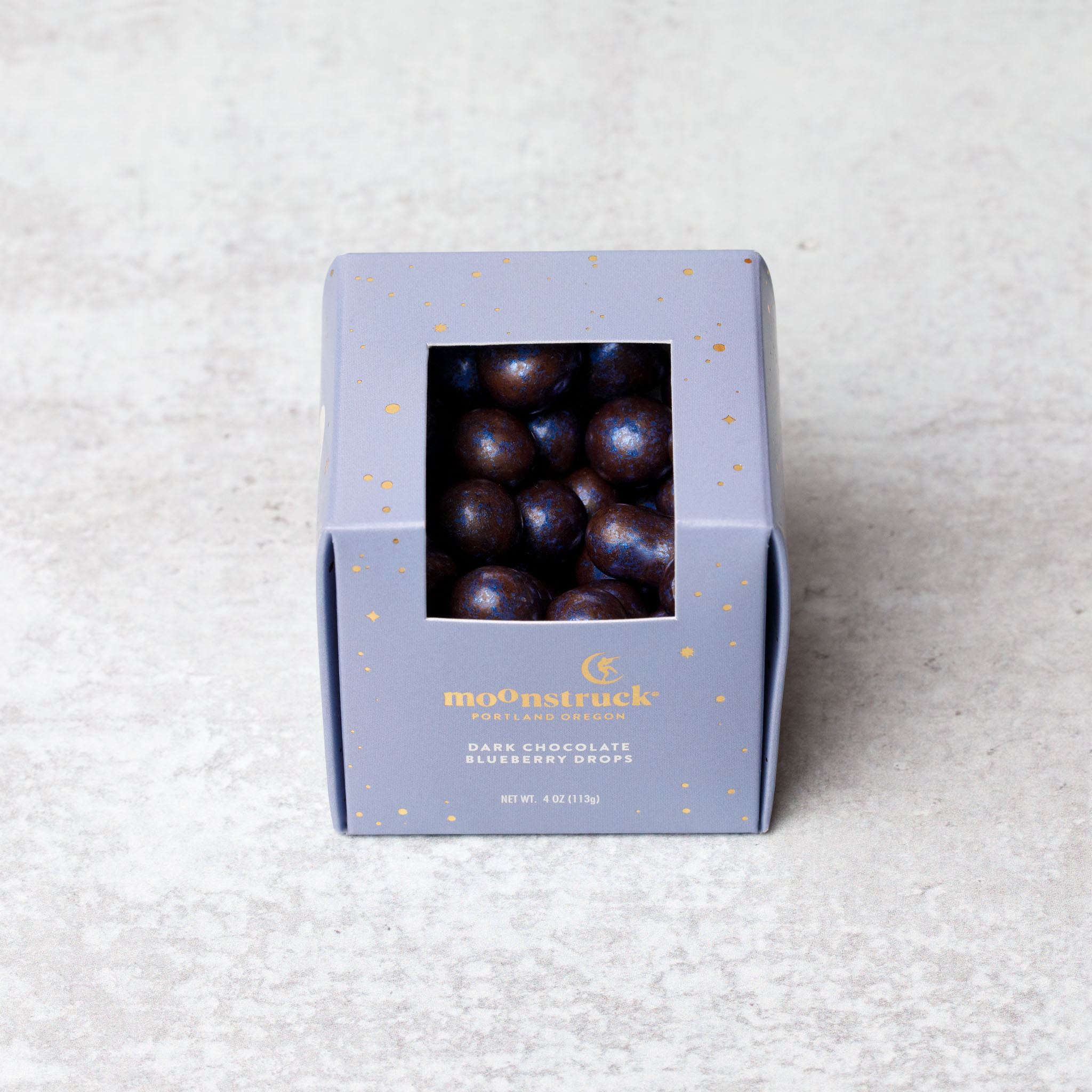 Dark Chocolate Blueberry Drops