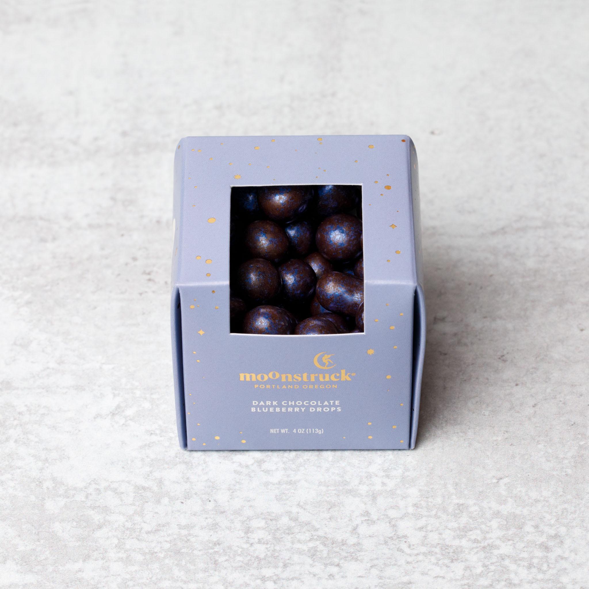 Dark Chocolate Blueberry Drops