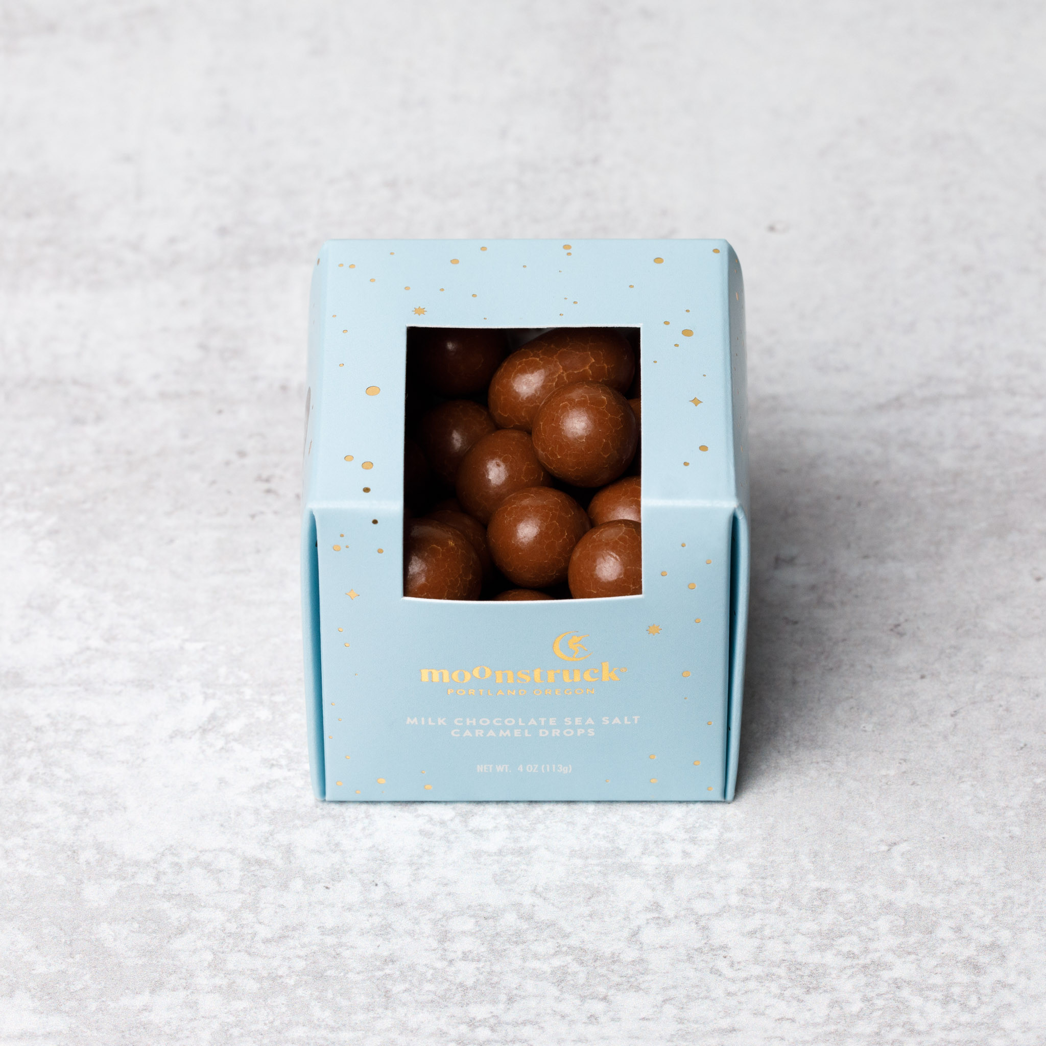 Milk Chocolate Sea Salt Caramel Drops
