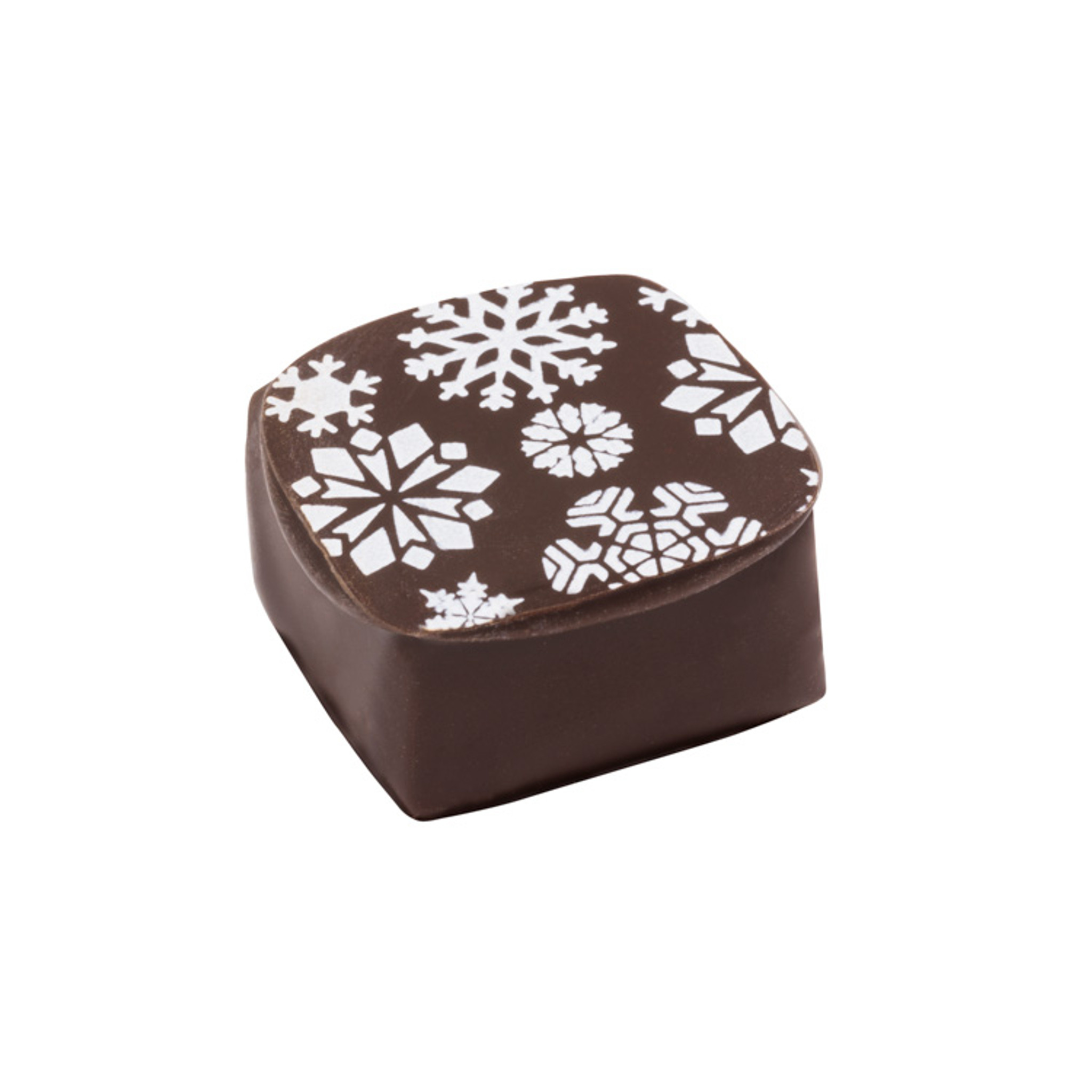 Dark Chocolate Snowflake