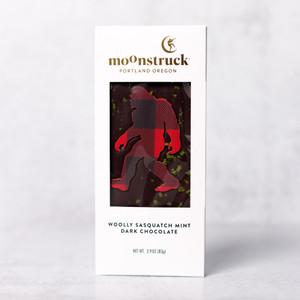Woolly Sasquatch Mint Dark Chocolate Bar