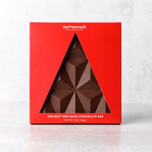 Holiday Tree Dark Chocolate Bar