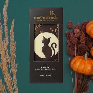 Black Cat Dark Chocolate Bar