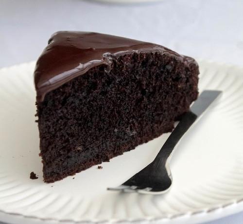 Chocoladetaart (gluten- en lactosevrij)