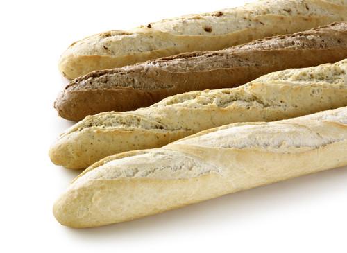   Stokbrood : wit - mais - pompoen  