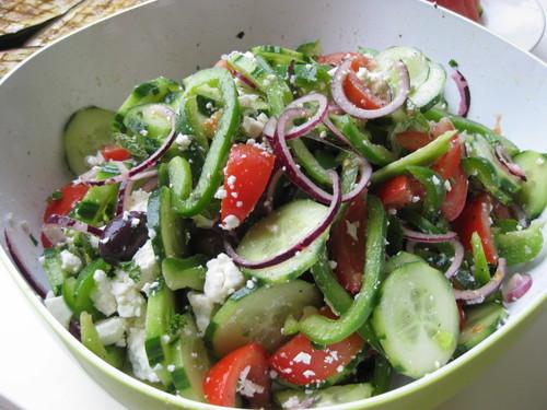 | Griekse salade |