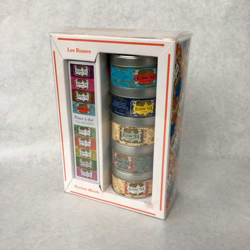 Kusmi tea time gift set Les Russes
