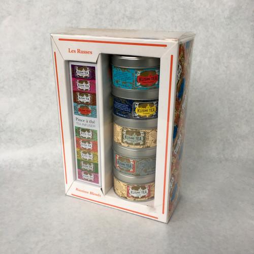 Kusmi tea time gift set Les Russes