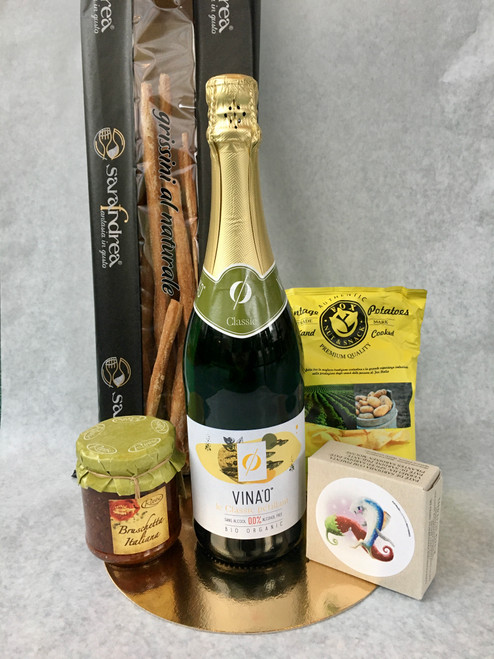 Aperopakket Vina'O° / alcoholvrije schuimwijn