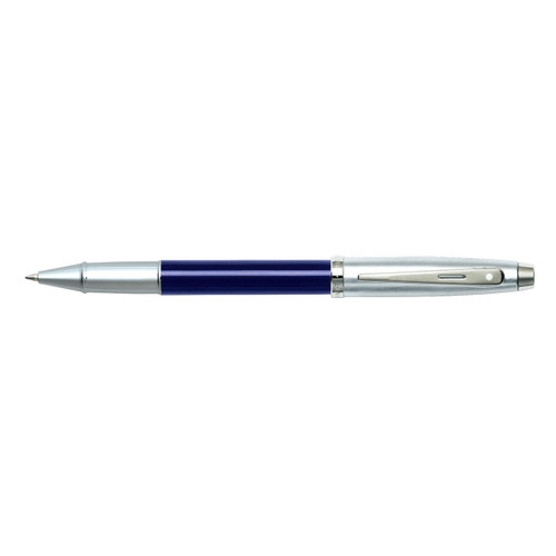 100 Blue Lacquer/Chrome Rollerball Pen