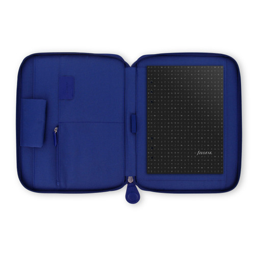 Pennybridge Zipped Folio Cobalt Blue (A5)