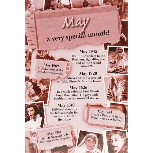 Chronicle Card - May Month